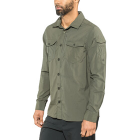 Craghoppers NosiLife Adventure II T-shirt à manches longues Homme, dark khaki